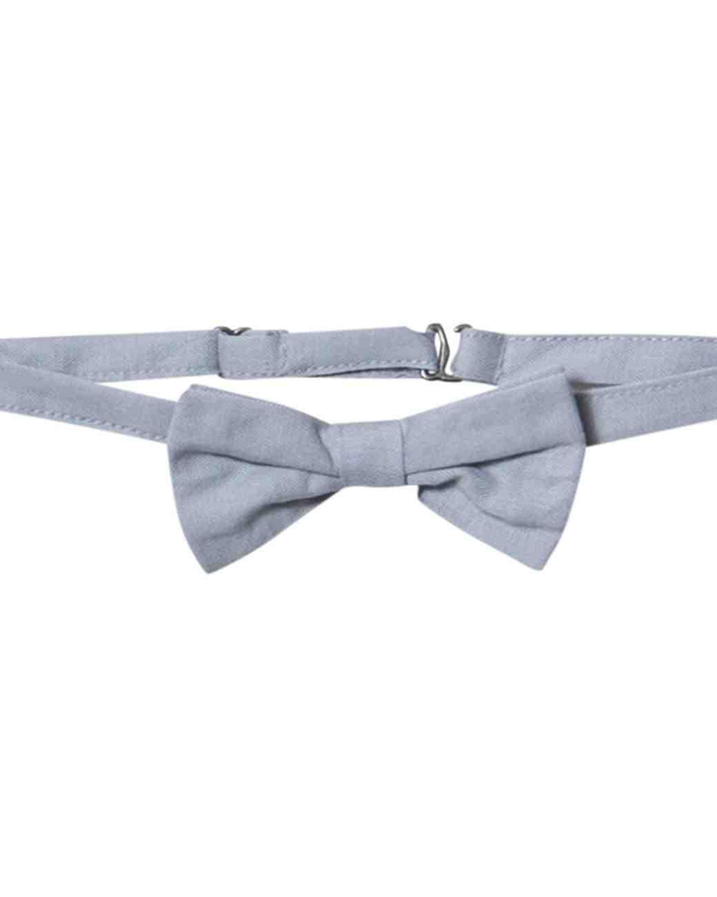 pale blue bow tie