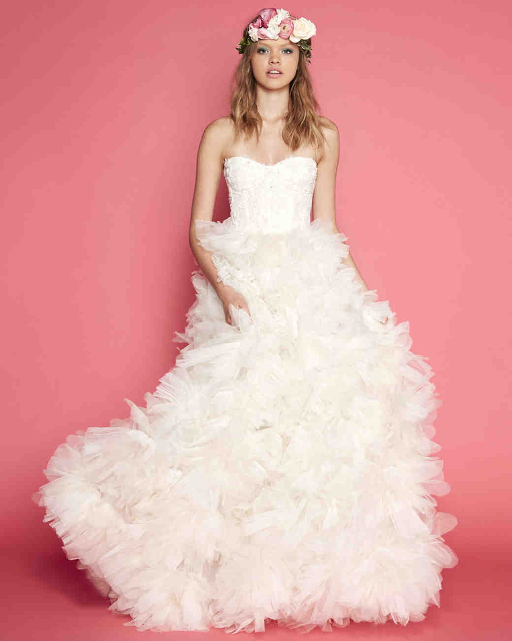 Exclusive First Look: Sabrina Dahan Spring 2017 Wedding Dress ...