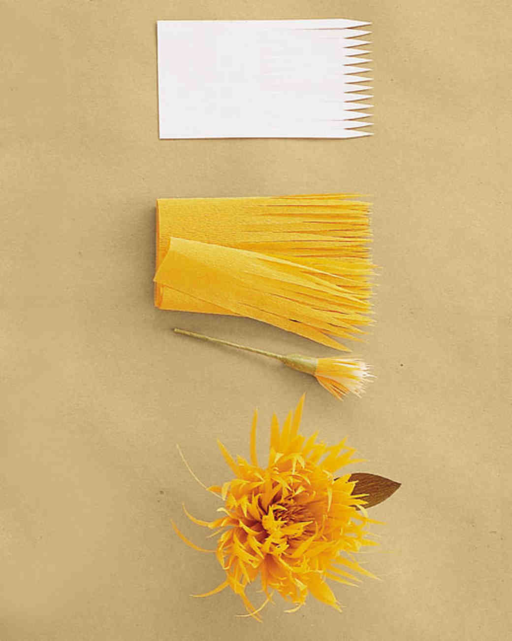 How to make crepe paper flowers martha stewart weddings mightylinksfo