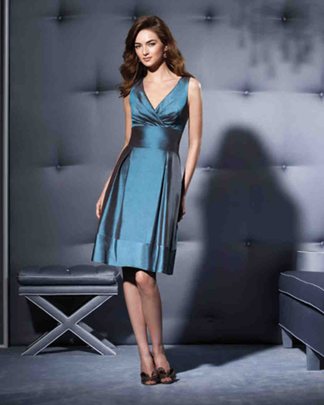 Blue and green bridesmaid dresses martha stewart weddings ombrellifo Choice Image