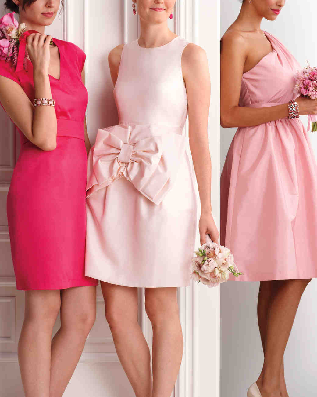 13 pink wedding palette ideas martha stewart weddings modern maids ombrellifo Choice Image