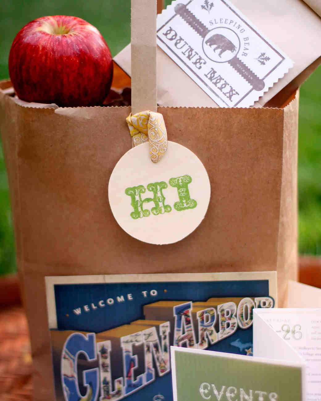 paper welcome bag
