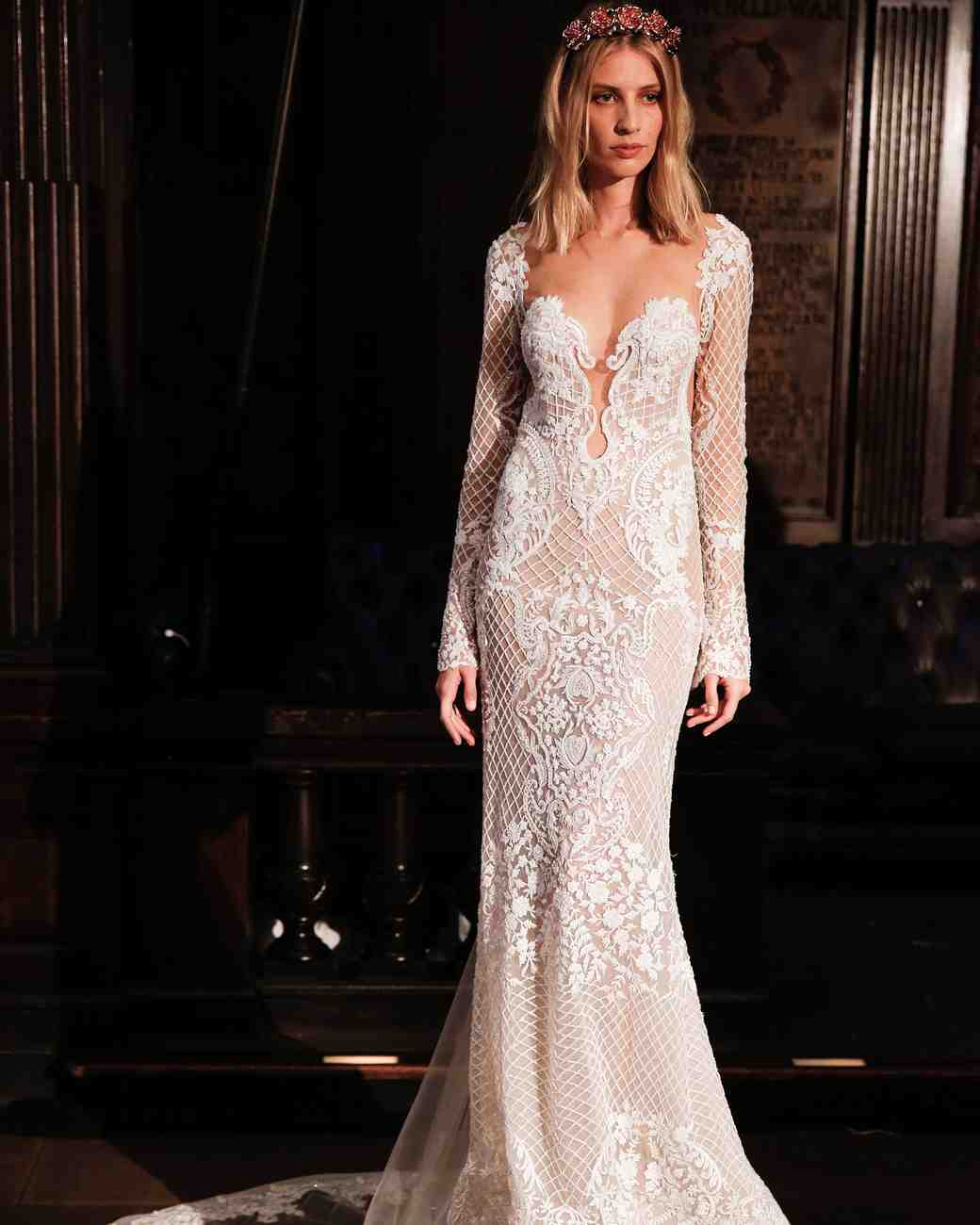 Sexy Berta wedding dress