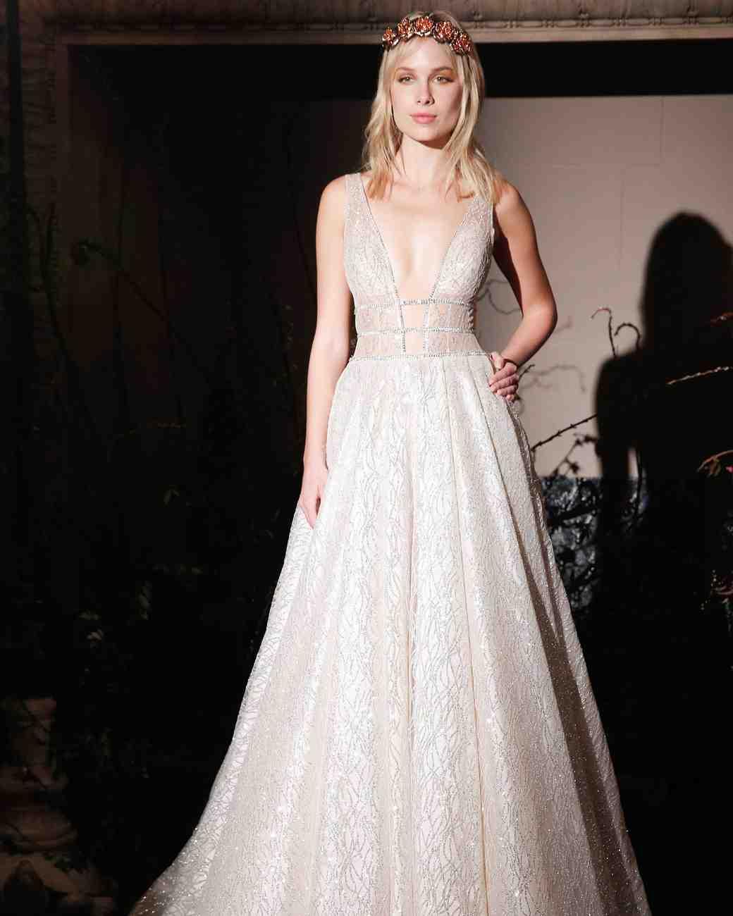 Berta Bridal Spring 2017 Wedding Dress Collection | Martha Stewart ...