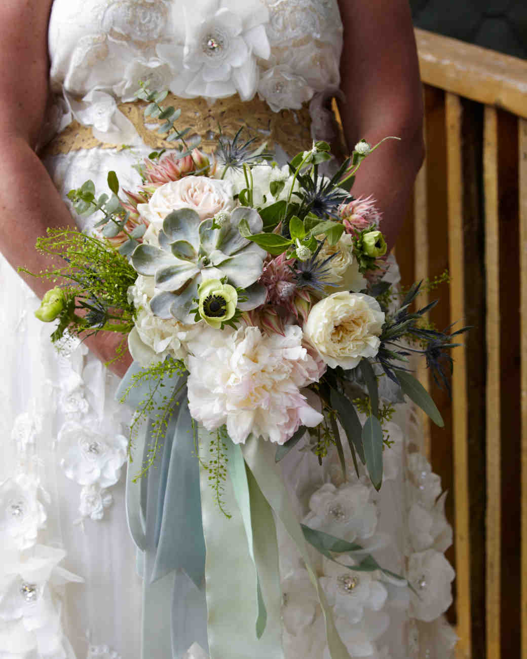 24 Succulent Wedding Bouquets Martha Stewart Weddings