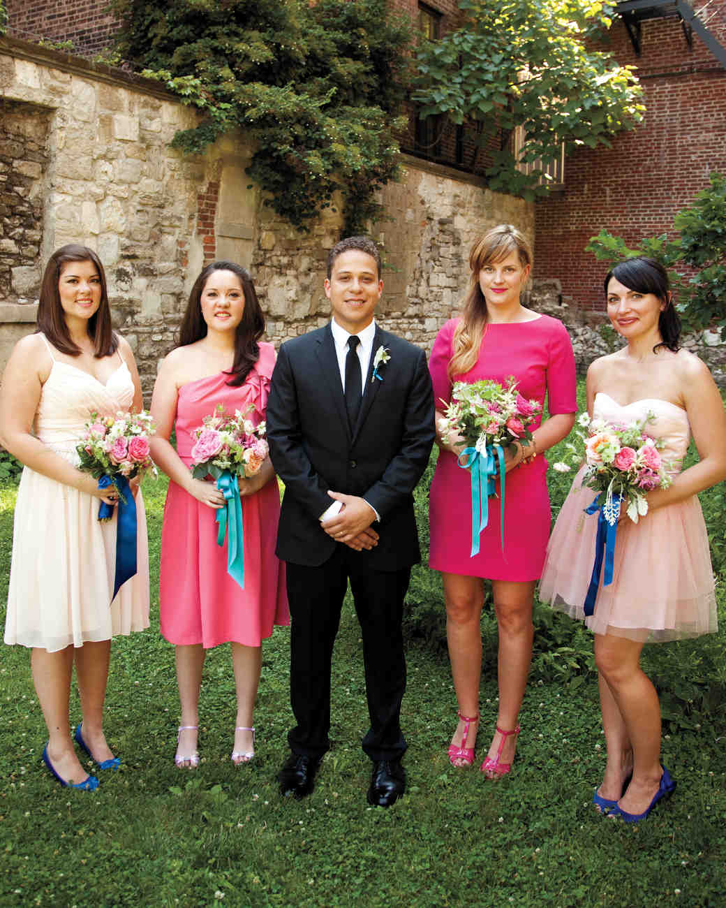 Your bridesmaid and groomsmen etiquette questions answered your bridesmaid and groomsmen etiquette questions answered martha stewart weddings ombrellifo Choice Image