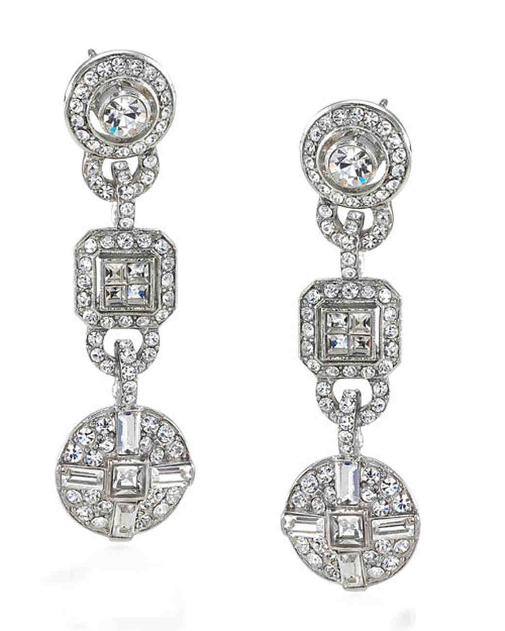 day earrings sterling silver bridal wedding page collections cz dangle
