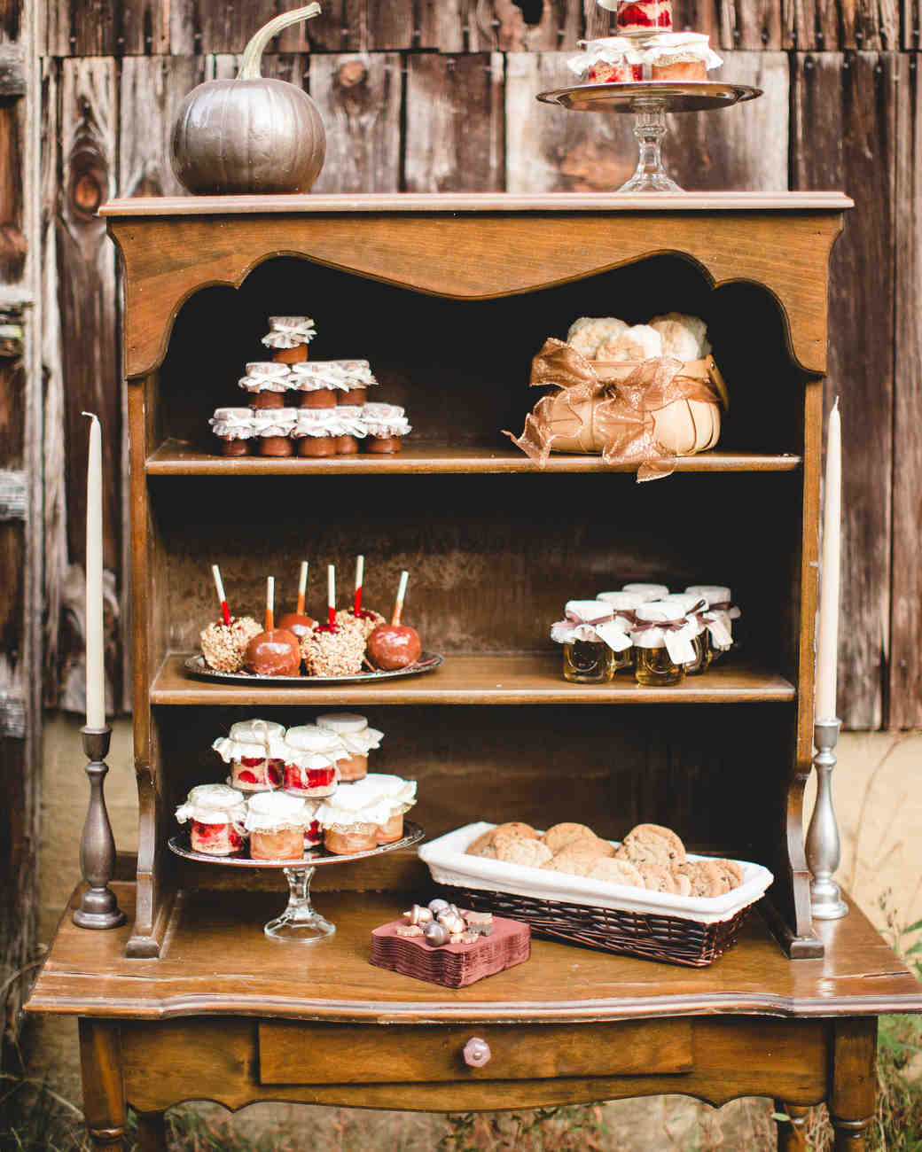 Red Dessert Table For Weddings: 39 Amazing Dessert Tables From Real Weddings