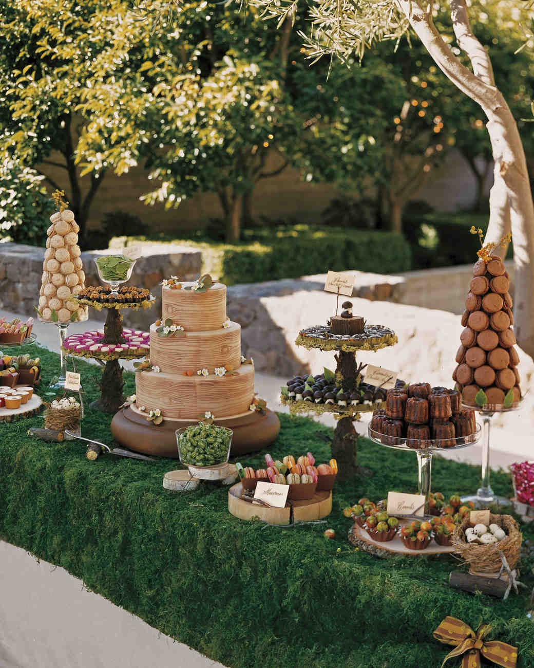 39 Amazing Dessert Tables From Real Weddings Martha Stewart Weddings