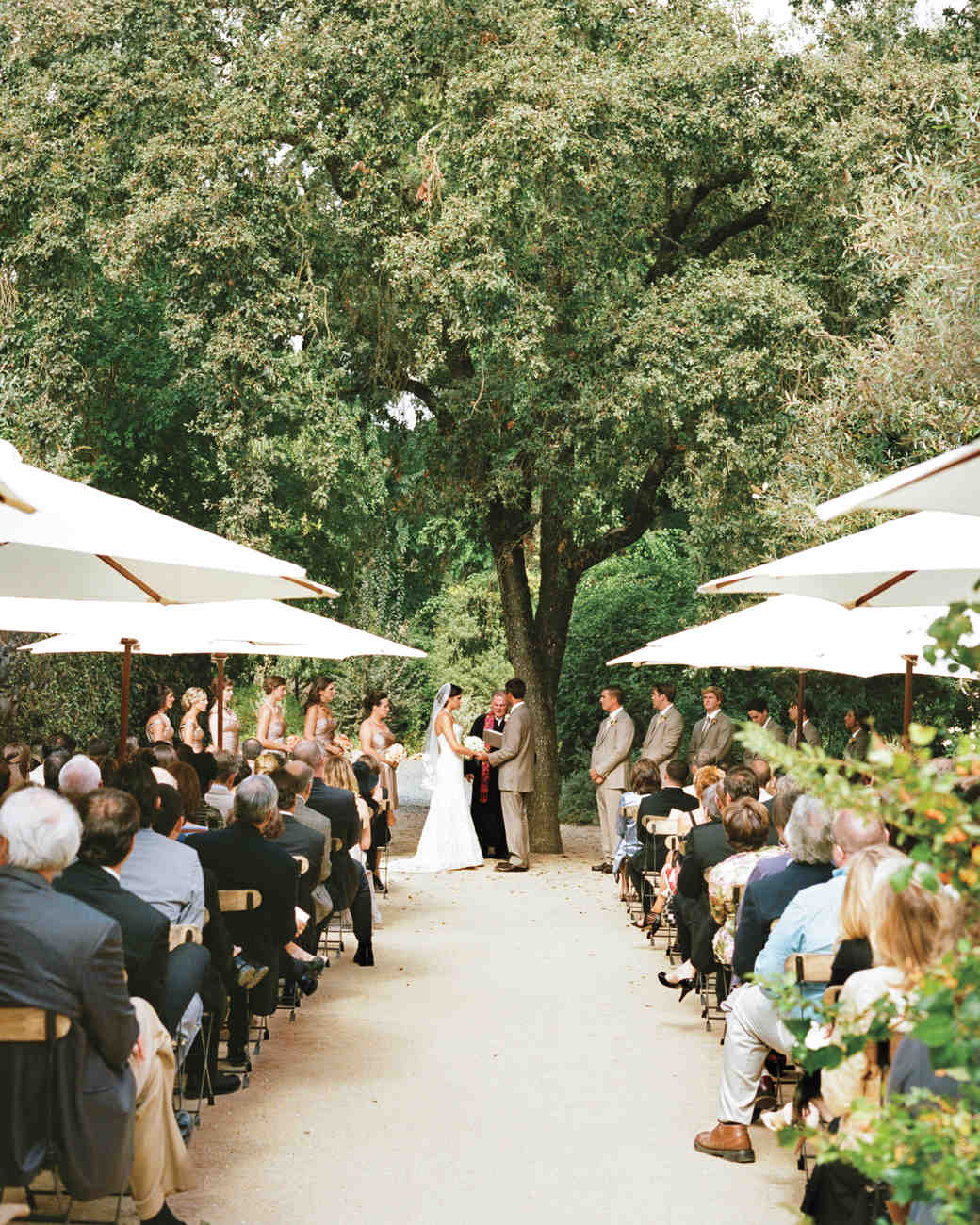 A Romantic Rustic Wedding At Winery In California