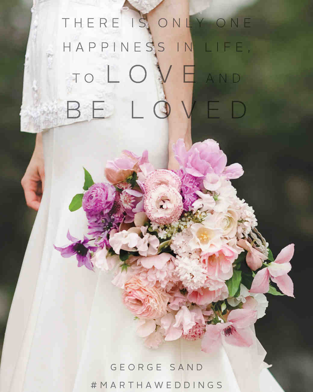 Flower Love Quotes Fair The 20 Best Love Quotes Of All Time  Martha Stewart Weddings