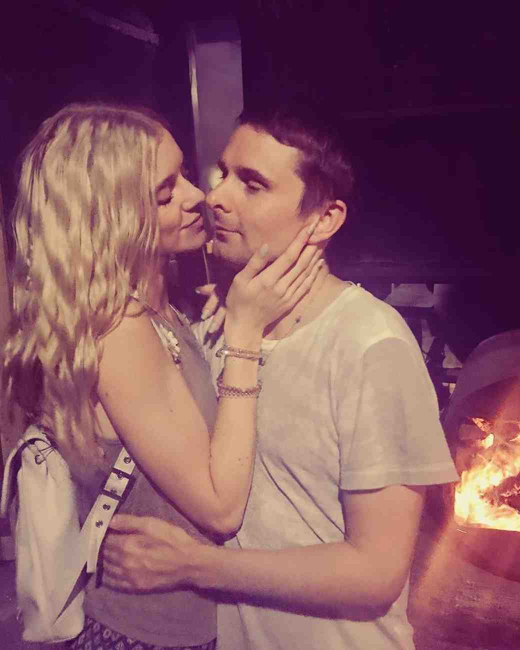 Matthew Bellamy Engaged