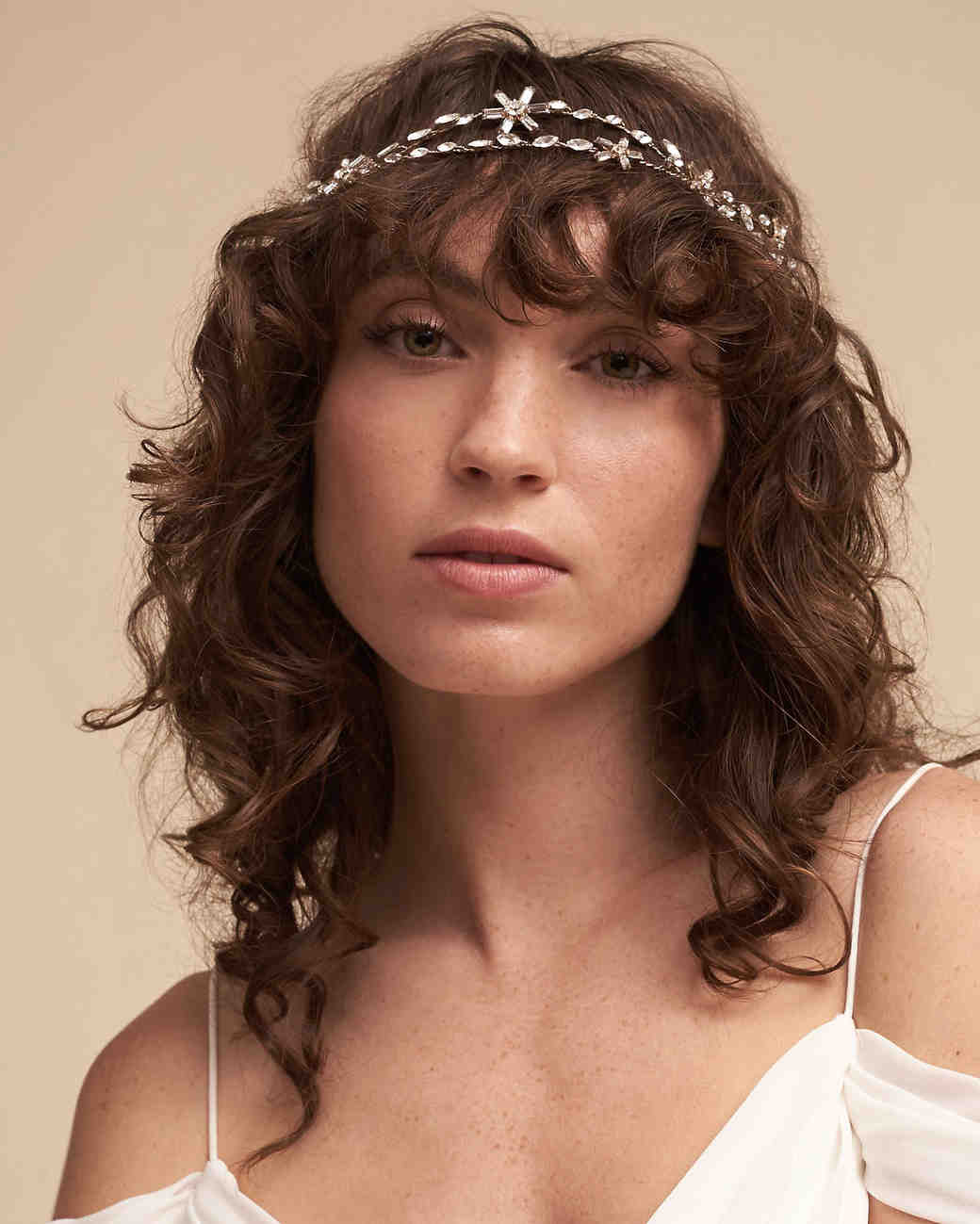 wedding headband jeweled