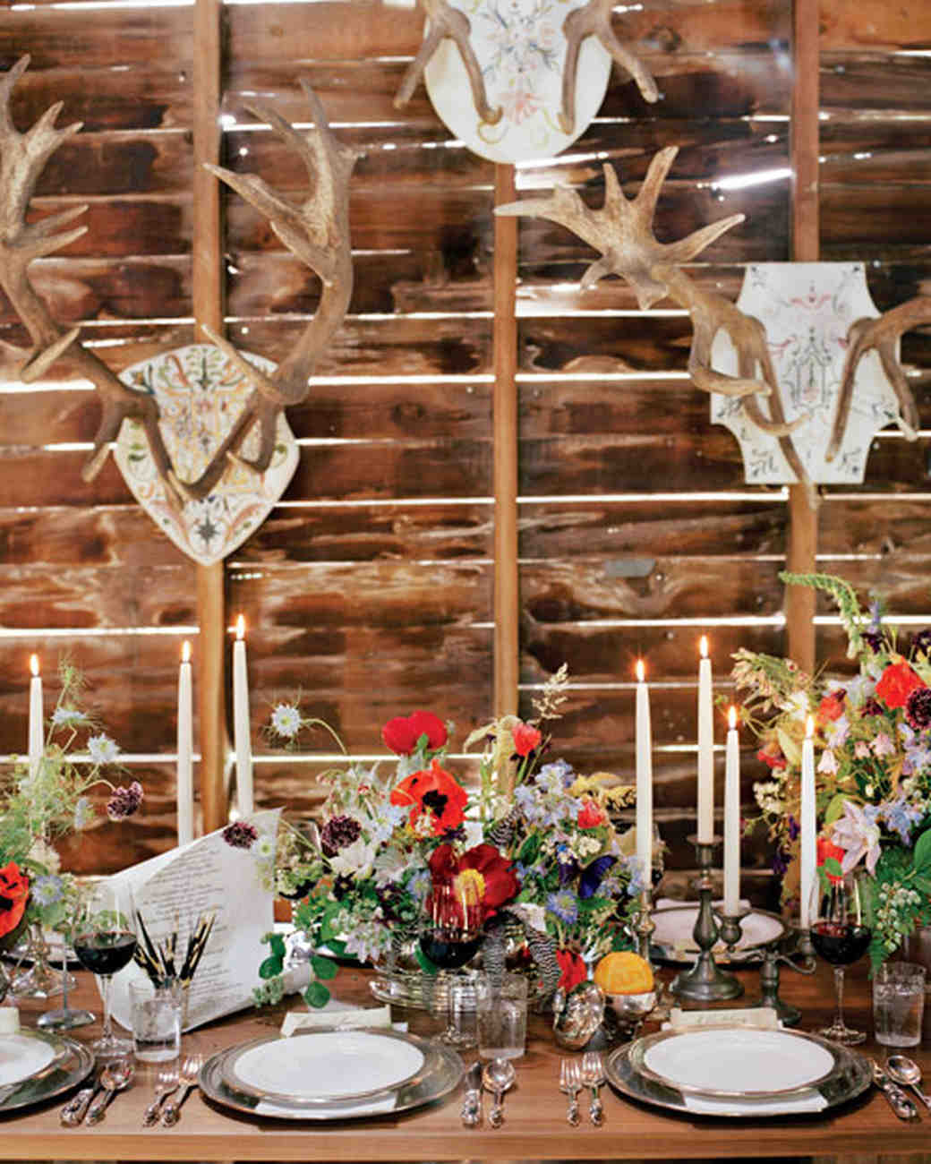 Country Wedding Centerpieces Ideas: 23 Ways To Arrange Red Wedding Centerpieces