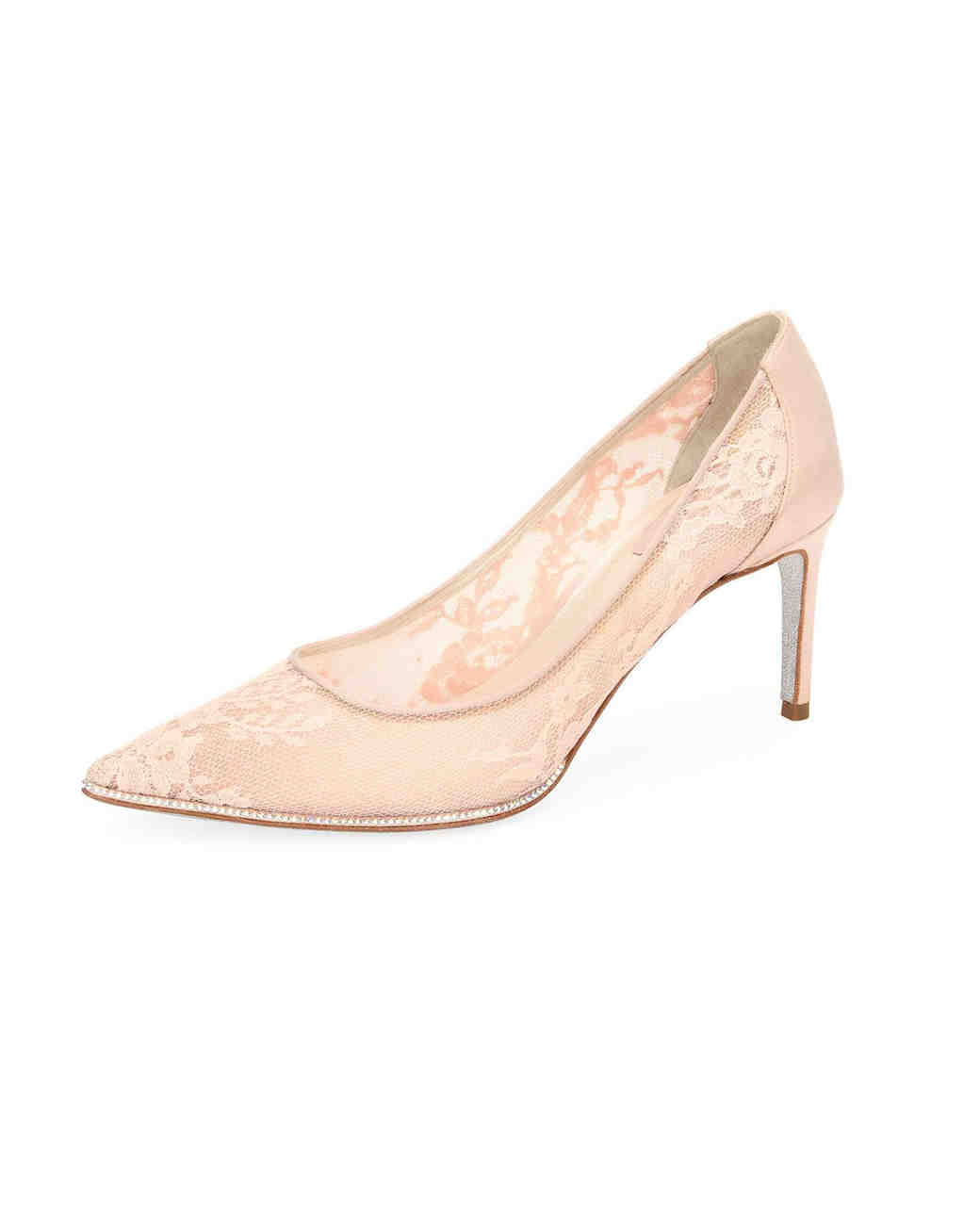 nude shoe pink floral grace pumps