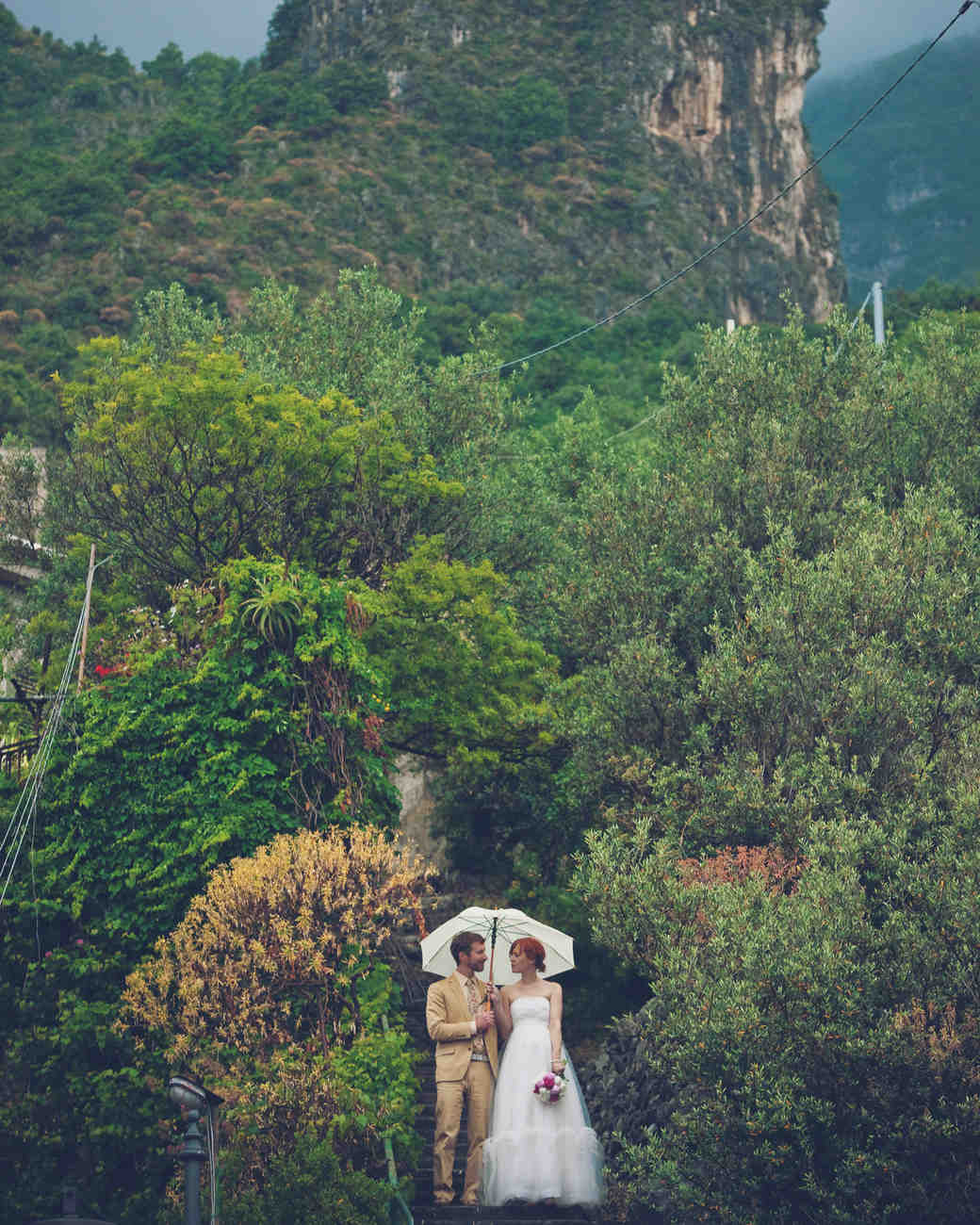 16 wedding traditions and superstitions martha stewart weddings rain on your wedding day junglespirit Image collections