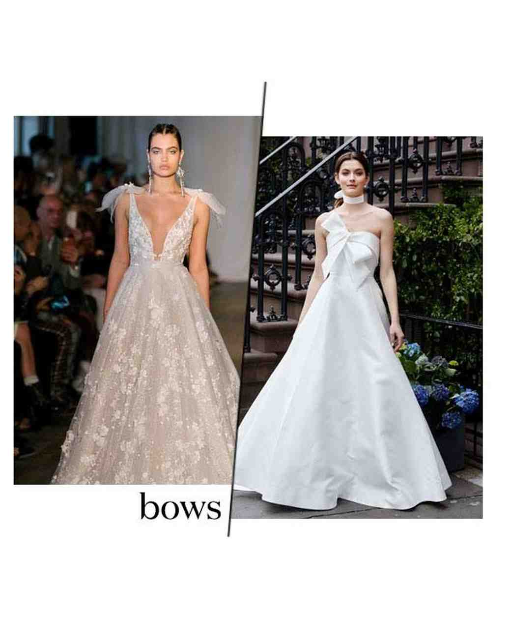 Wedding Dress Trends From Spring 2019 Bridal Fashion Week Martha