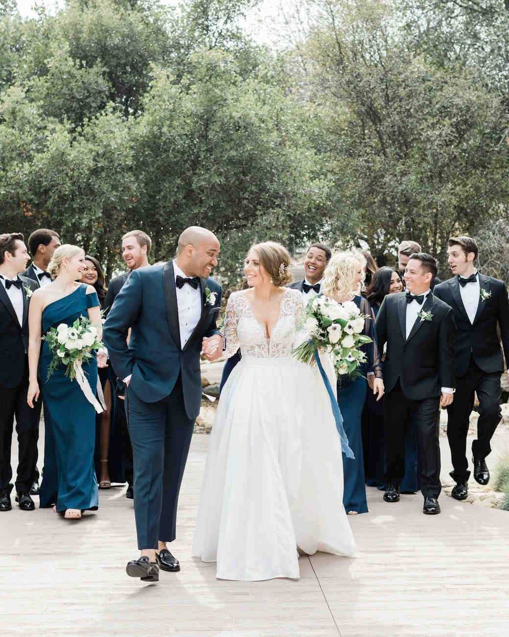 susie joe wedding party