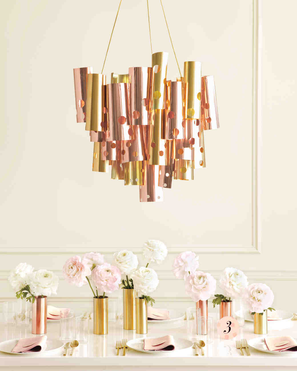 Metallic Chandelier