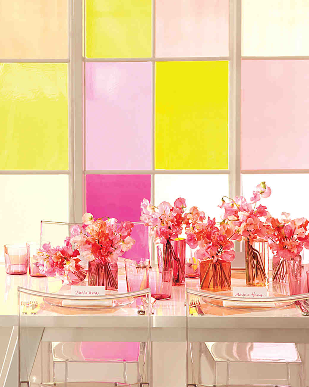 Pair Sheer Citrus and Pink for a Wedding Color Scheme That Makes a ...