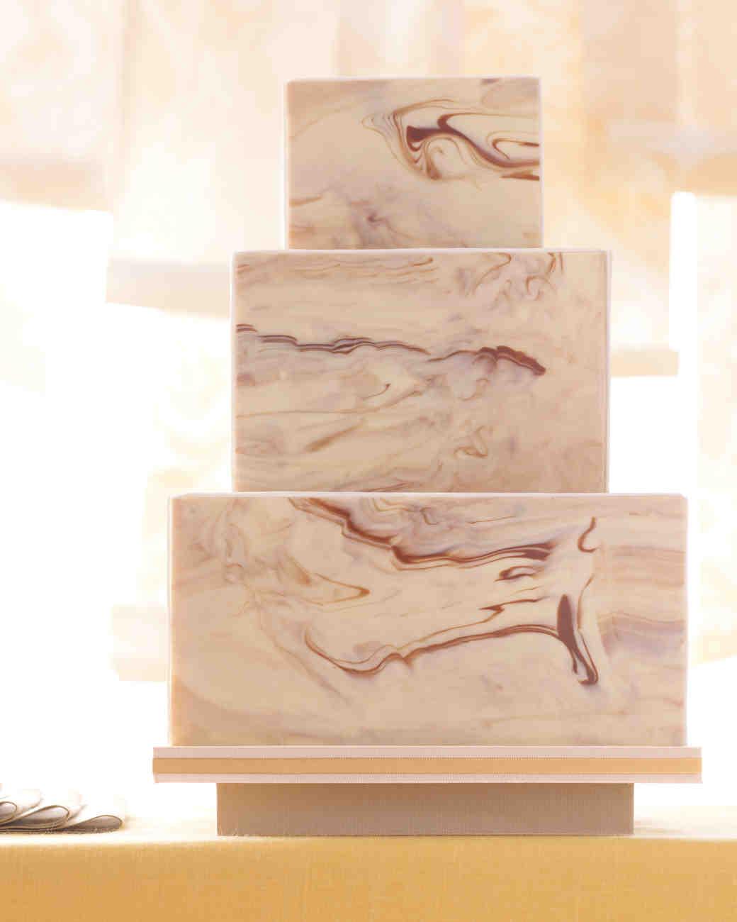 Unique Wedding Cakes Martha Stewart Weddings