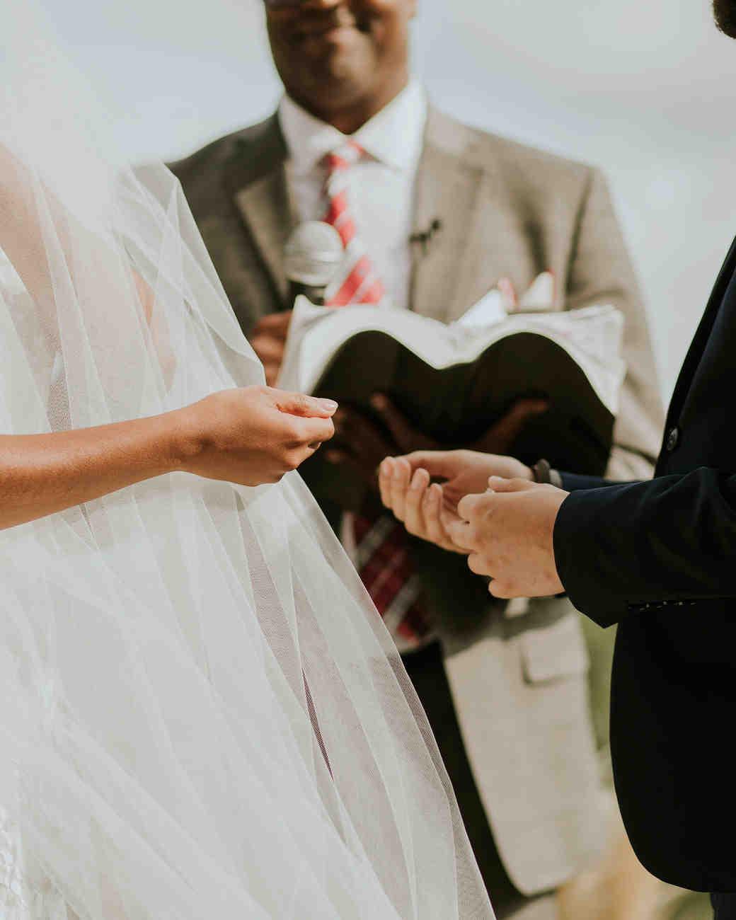 ferbie rob boho wedding ring exchange