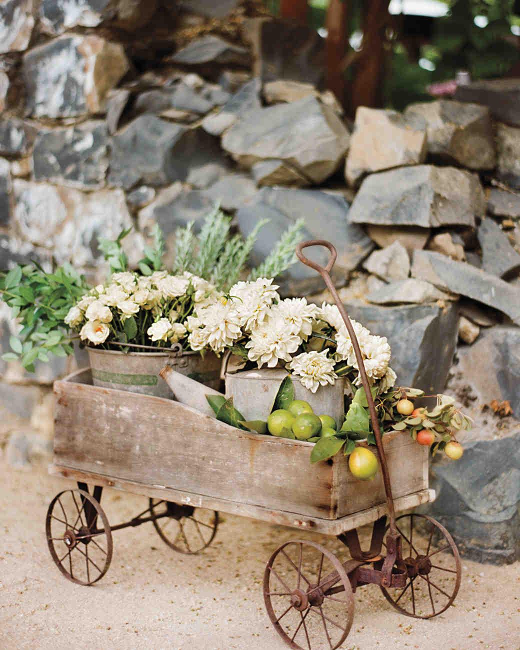 A Rustic Wedding At Winery In California Martha Weddings