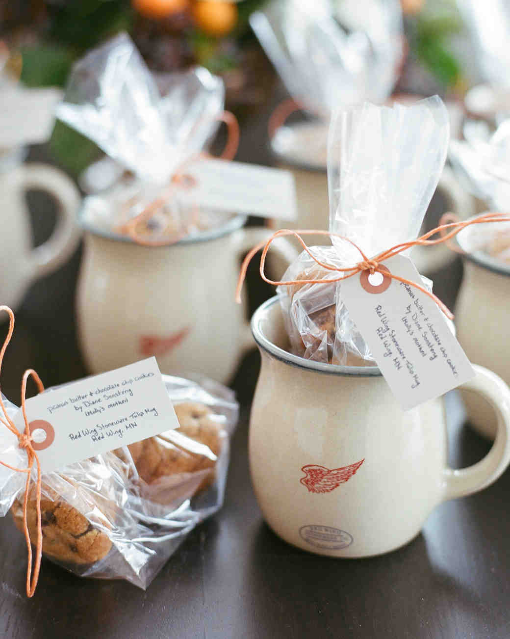 Mug and Cookie Favors
