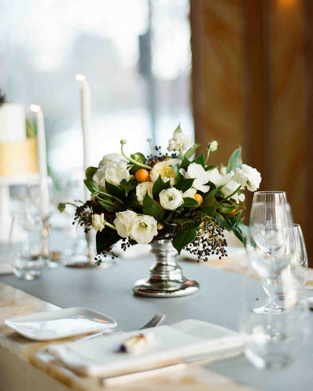 Simple Vintage Centerpiece