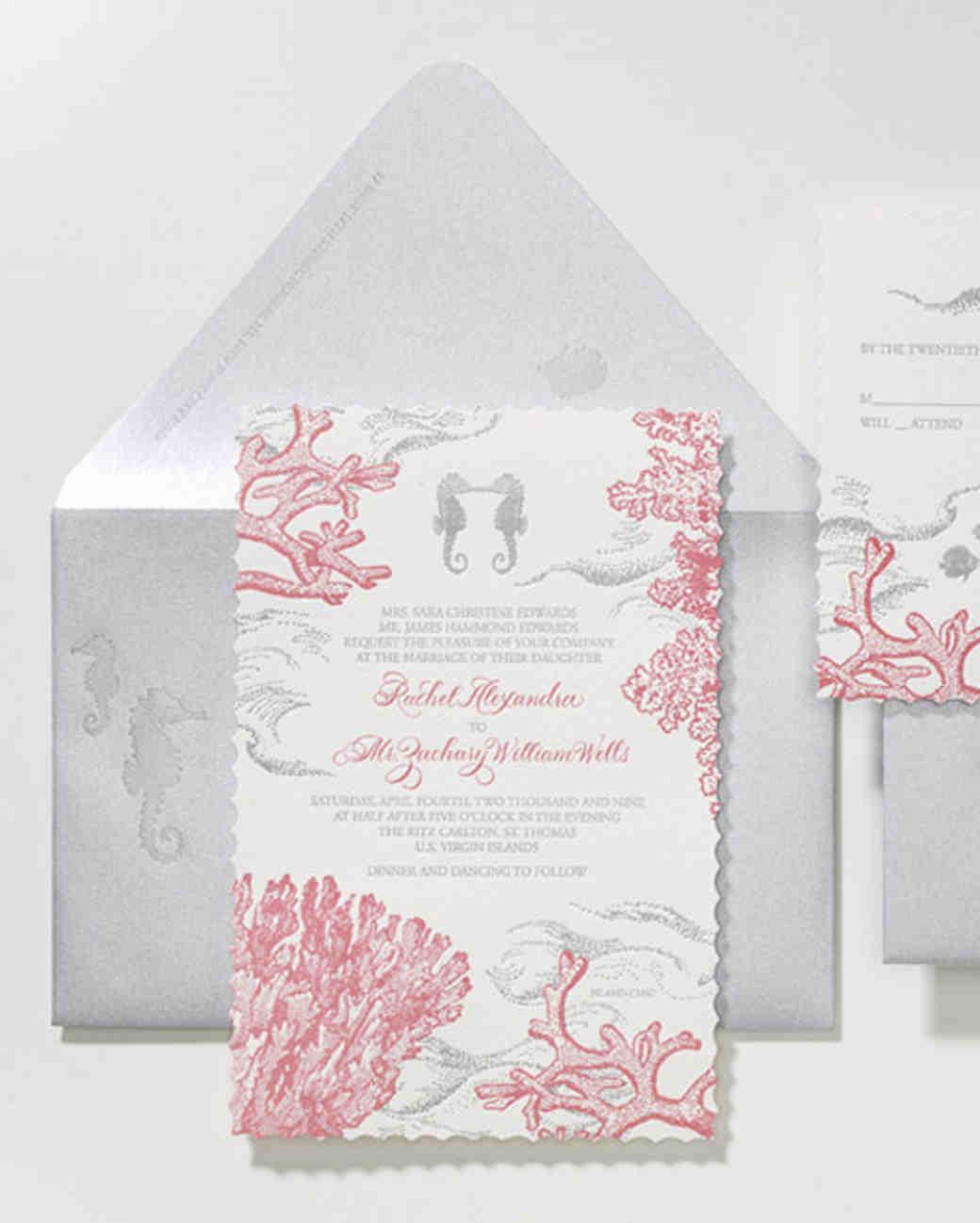 37 Destination Wedding Invitations from Real Weddings Martha