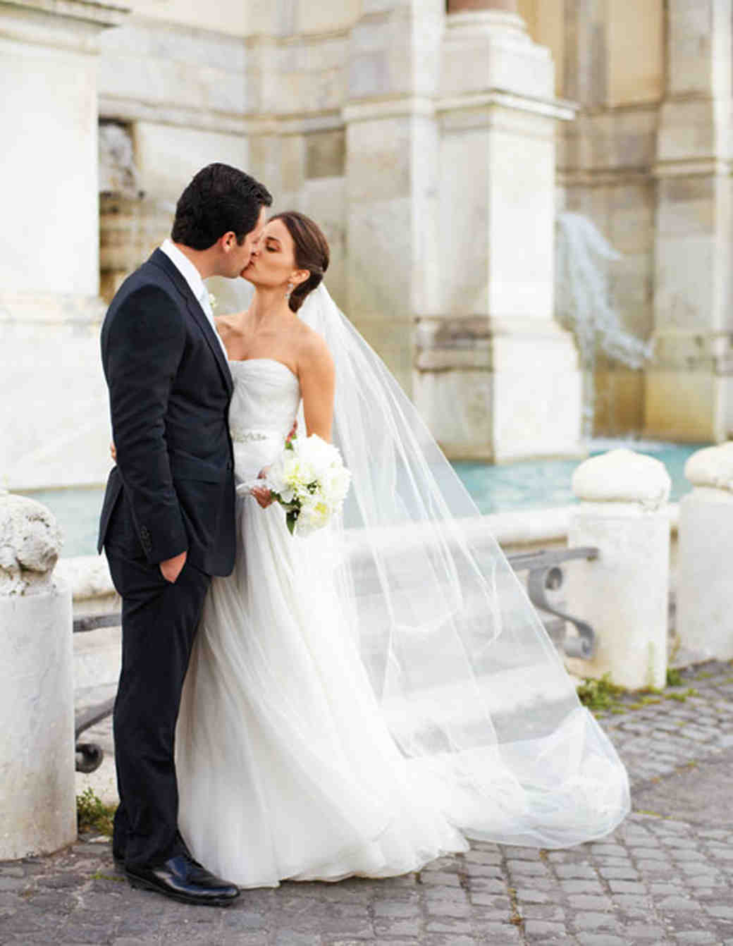 A Whimsical DIY Destination Wedding in Italy | Martha Stewart Weddings