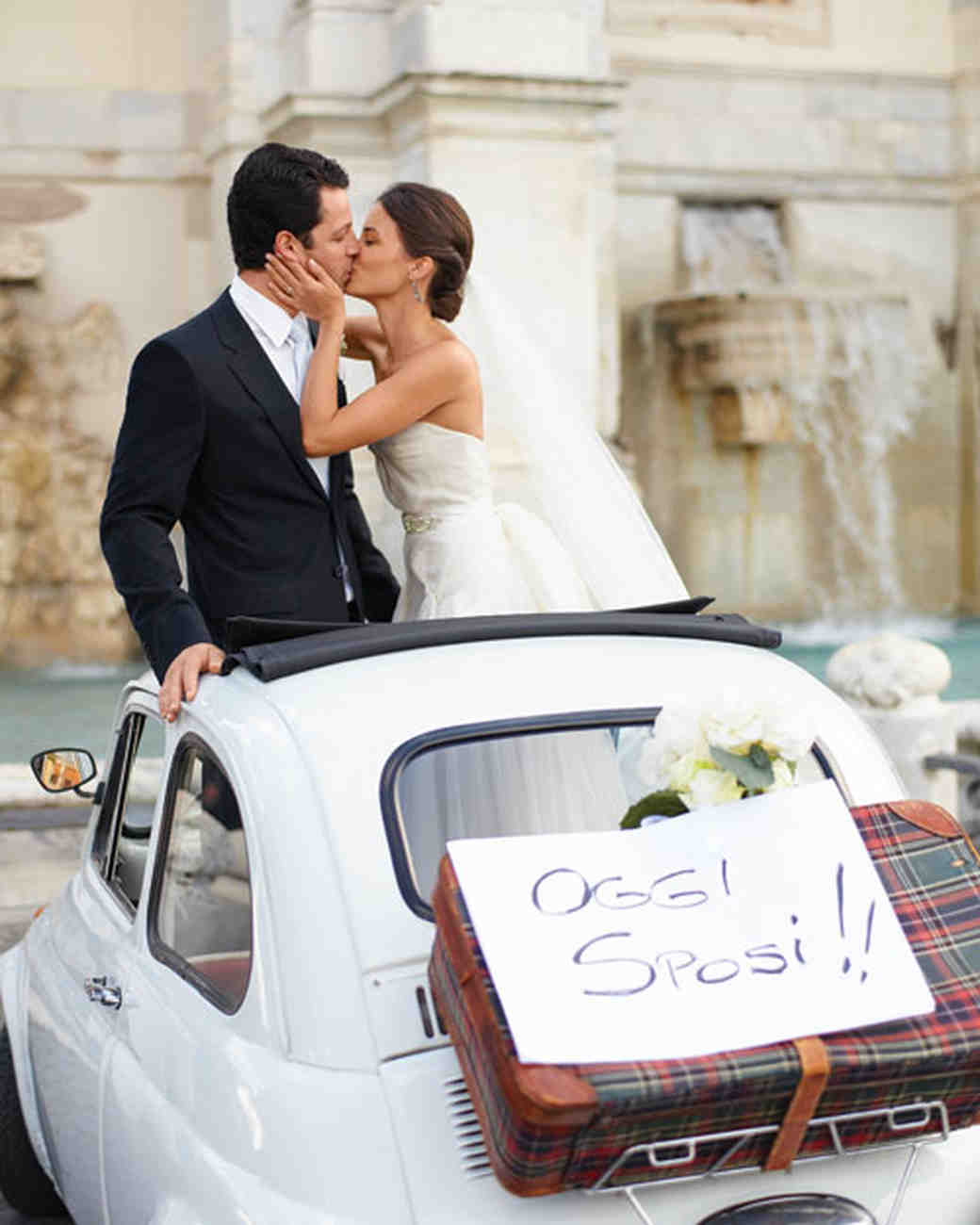 Fiat getaway car