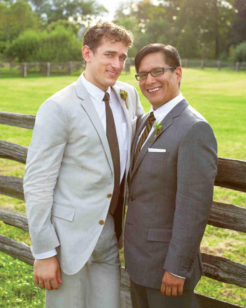 A Casual Outdoor Green Wedding in New York | Martha Stewart Weddings