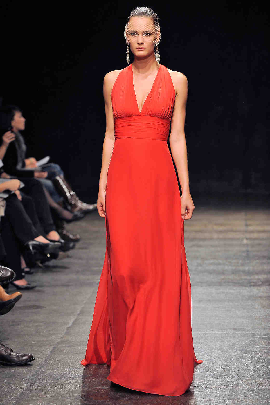 Noir by lazaro fall 2013 bridesmaid collection martha stewart long red bridesmaid dress noir by lazaro ombrellifo Image collections