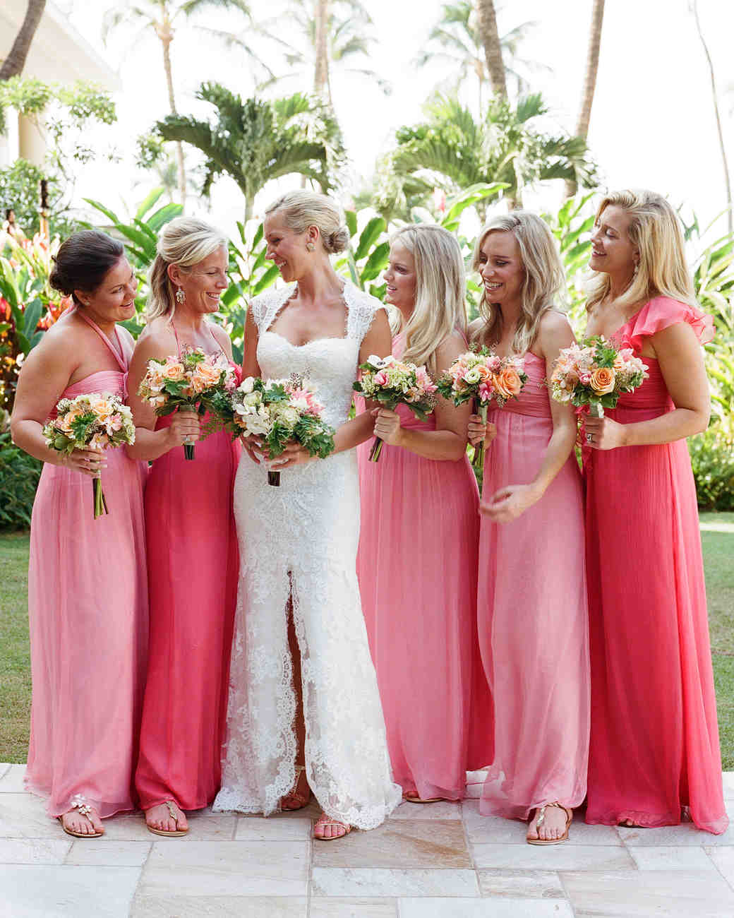 A Traditional Hawaiian Destination Wedding in Maui | Martha Stewart ...