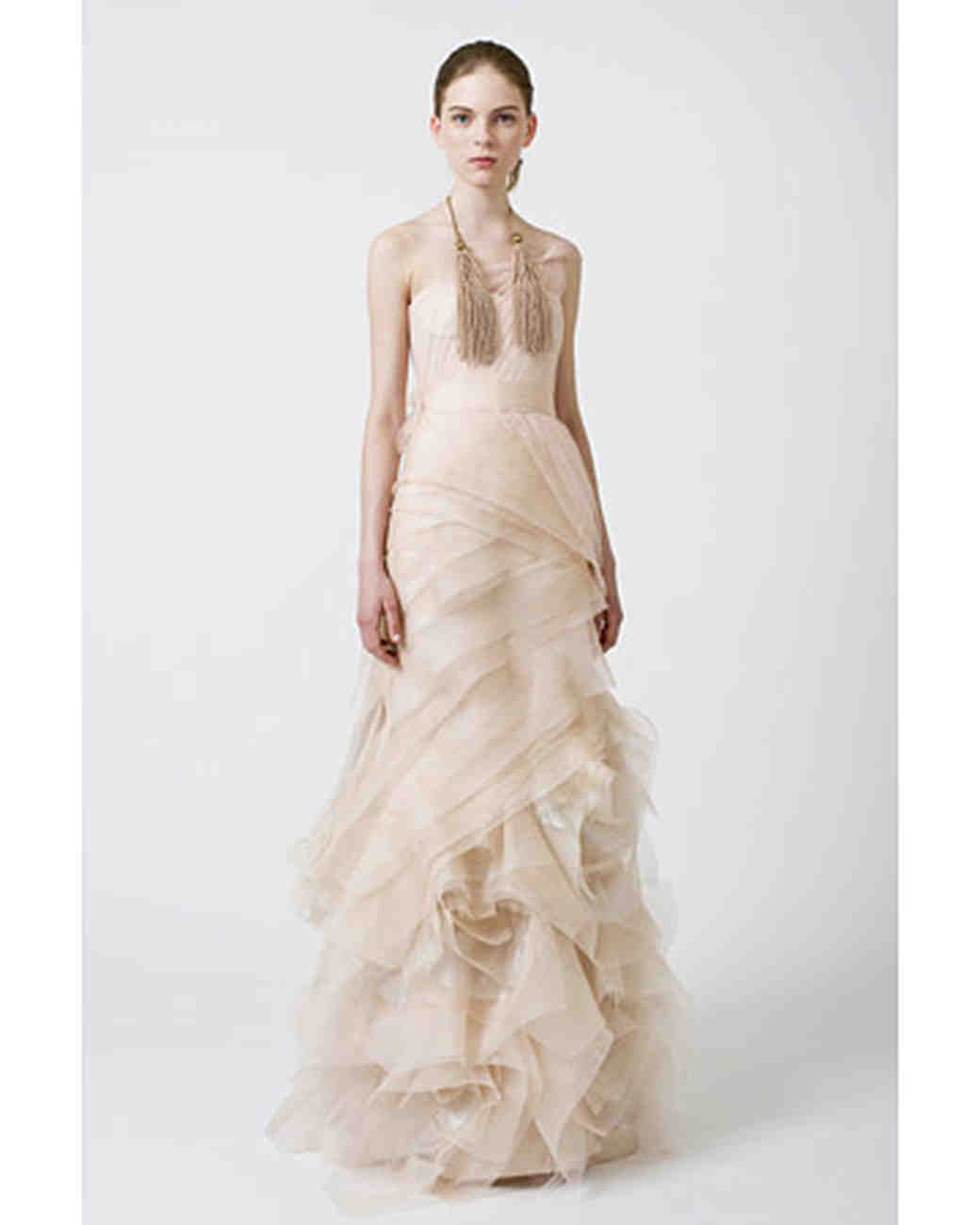 Mother of Bride Dresses Vera Wang Spring 2018