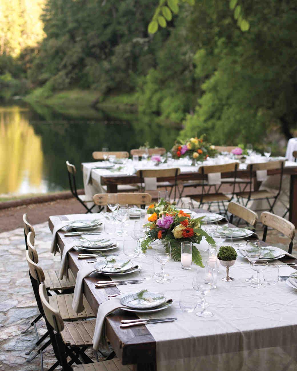Nicki And Mikeu0027s Rustic Wedding In The Northern California Woods | Martha  Stewart Weddings