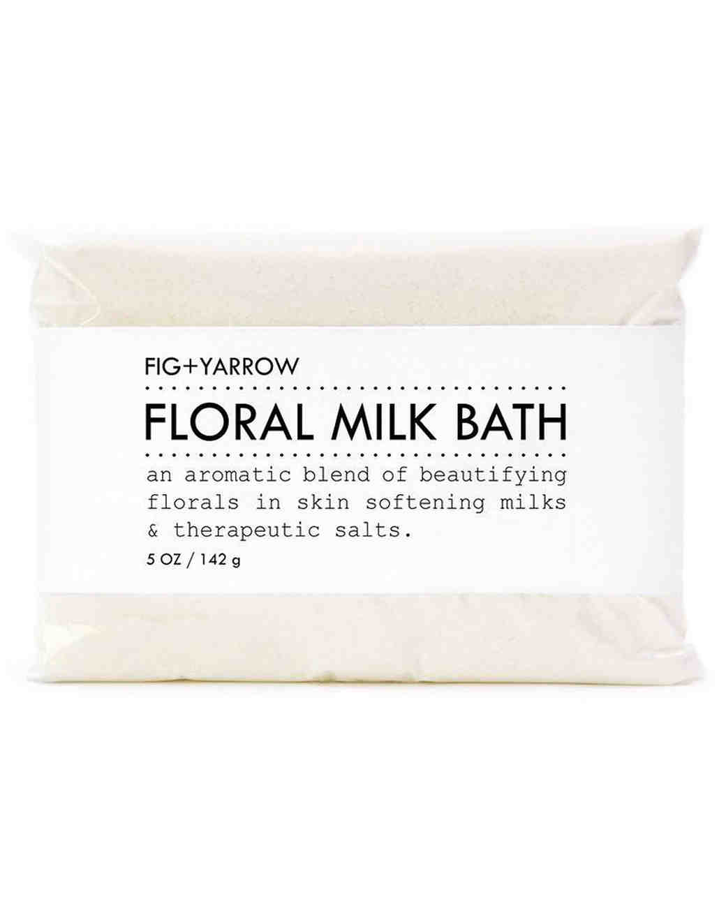 floral fig and yarrow bath soak