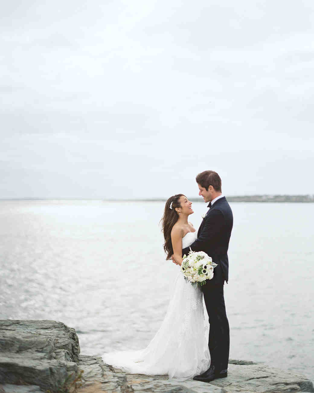 c4b84010a58 A Classic and Stylish Nautical Wedding in Newport