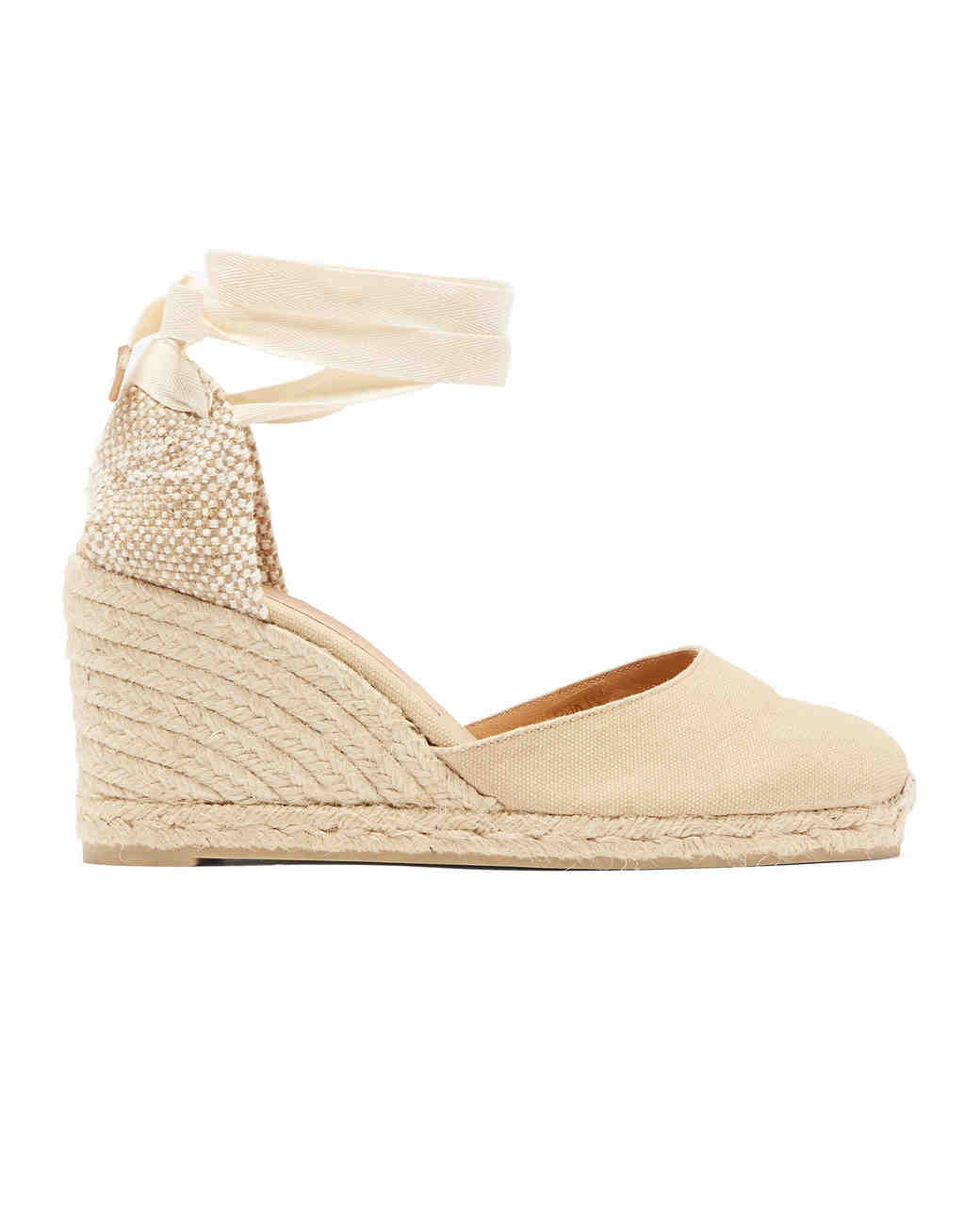 espadrille wedges bridesmaid shoes