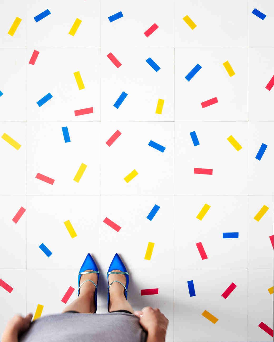 confetti dance floor