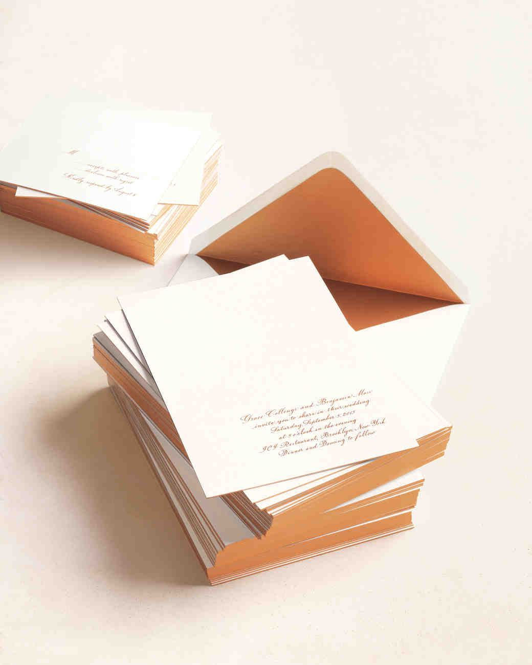 10 things you should know before mailing your wedding invitations martha stewart weddings - Addressing Wedding Invitations Etiquette