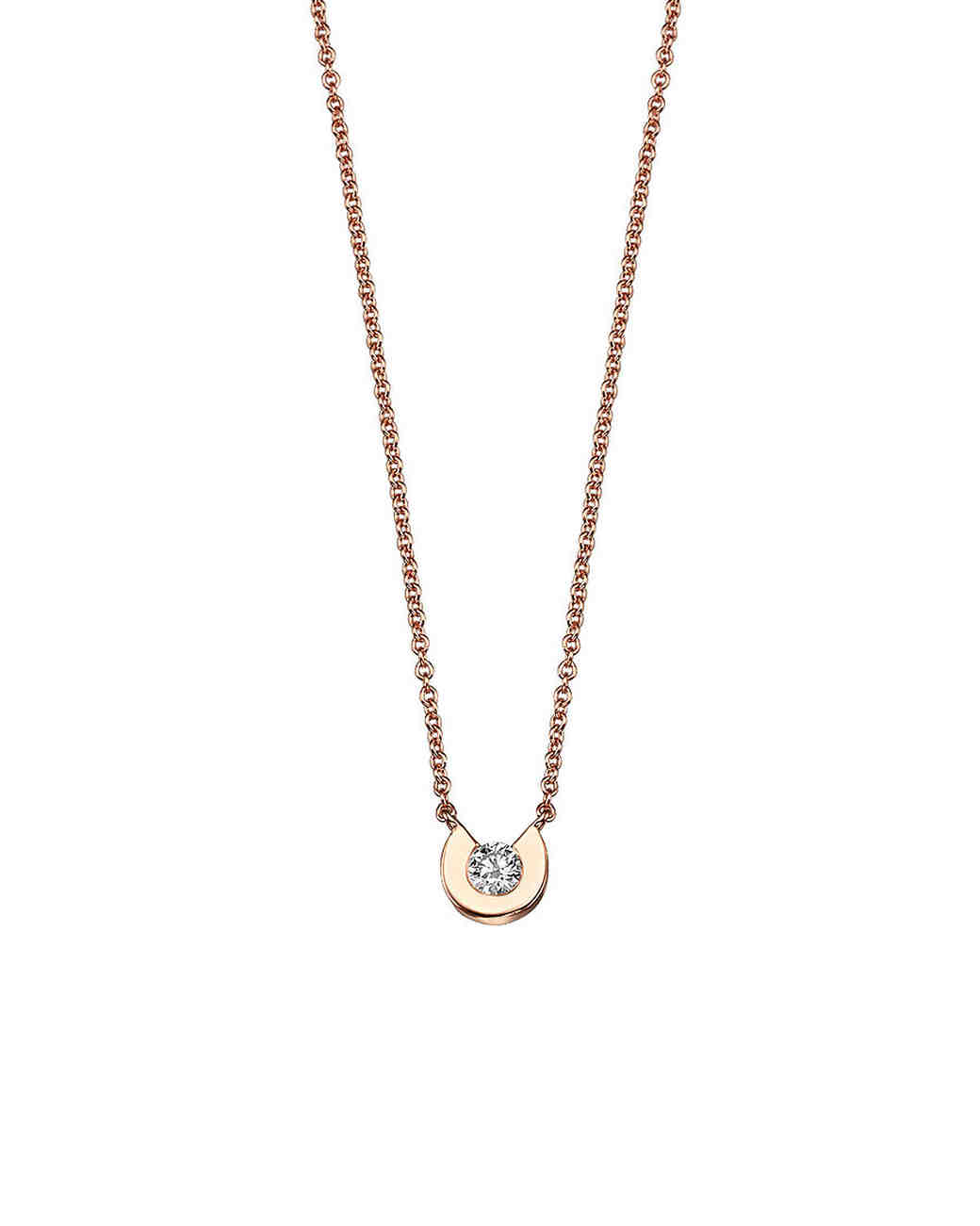 delicate gold cherut pendant necklace