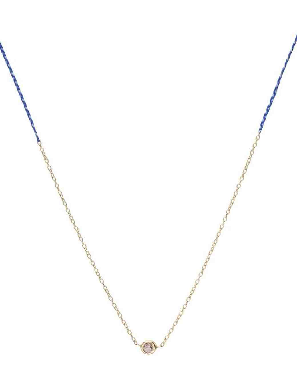 delicate gold necklace pendant Scosha