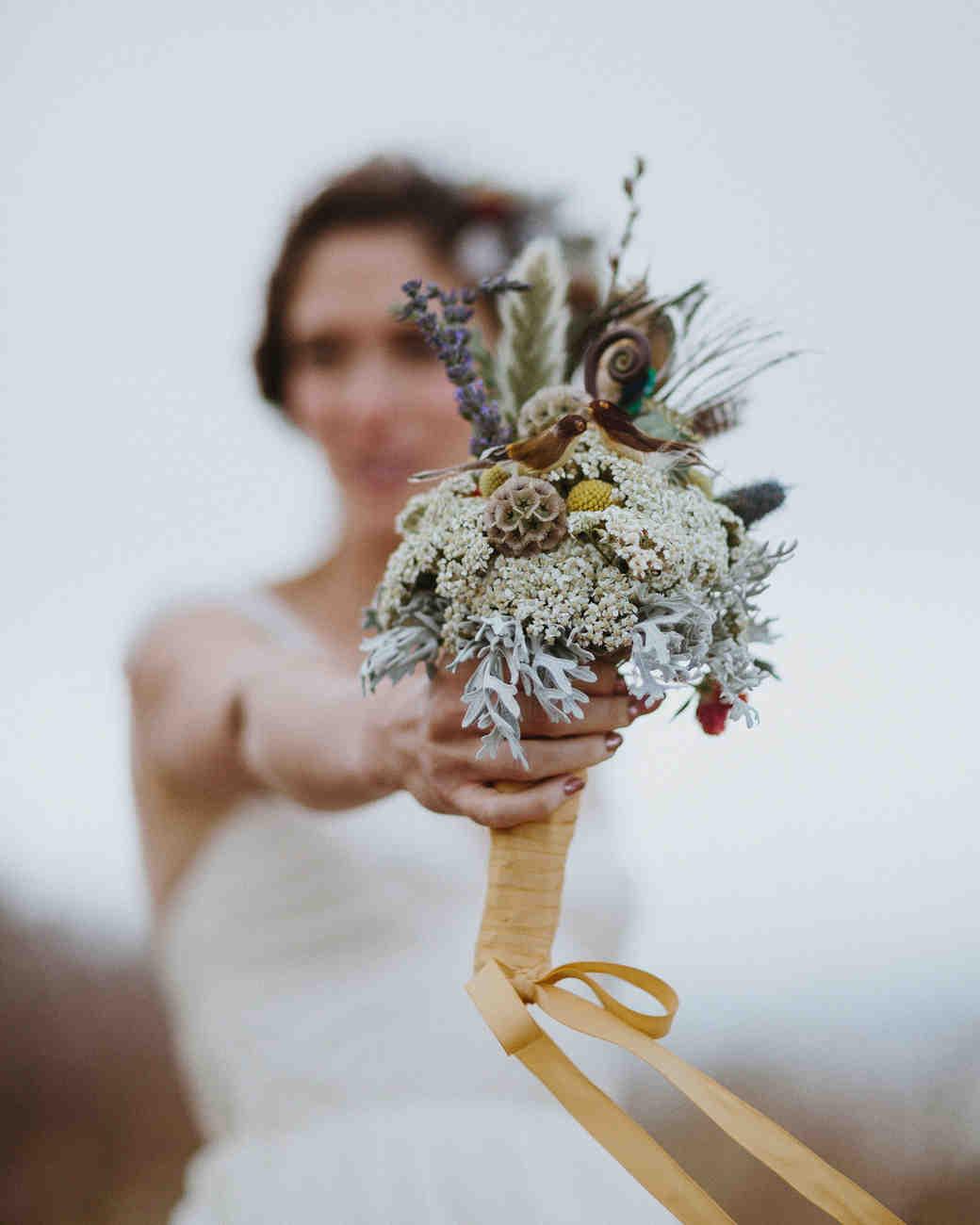Dried Flower Wedding Bouquet Topsimages