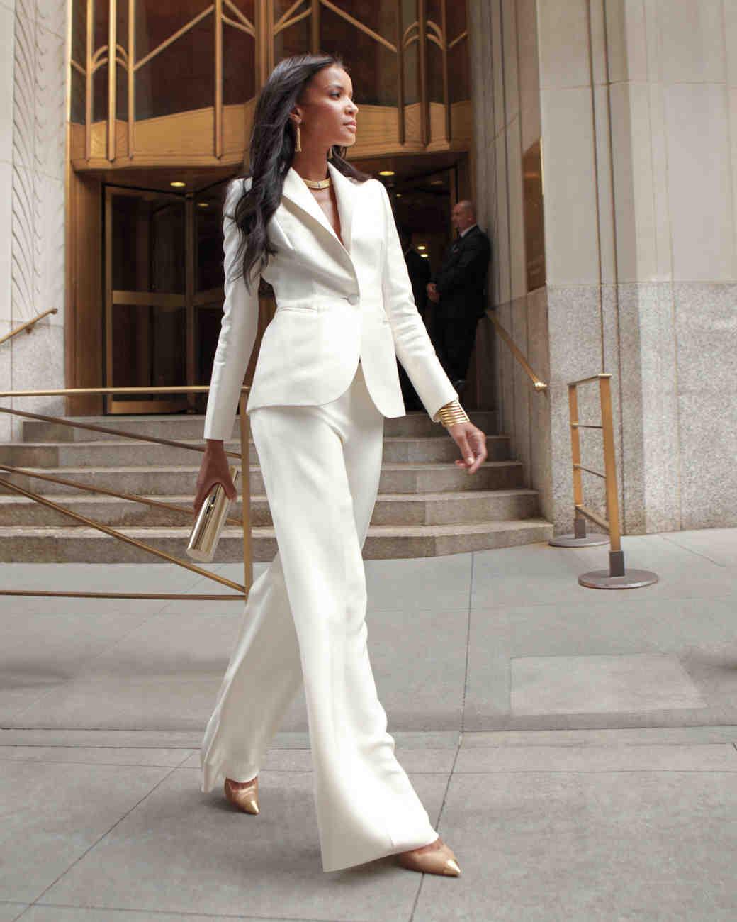 Modern Wedding Dresses | Martha Stewart Weddings