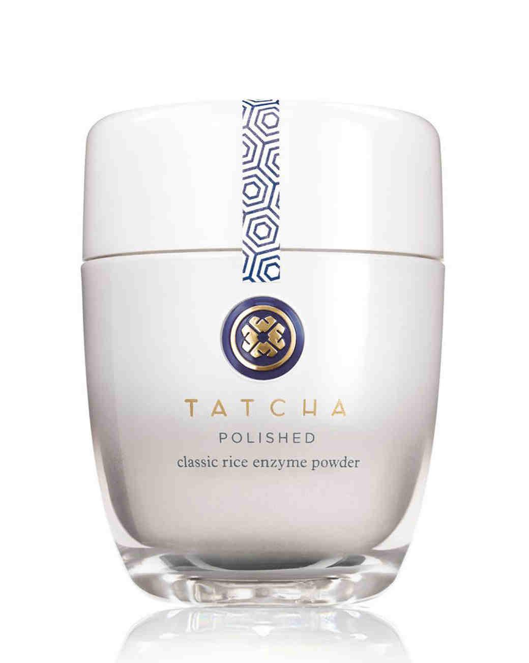 tatcha polished rice classic enzyme powder