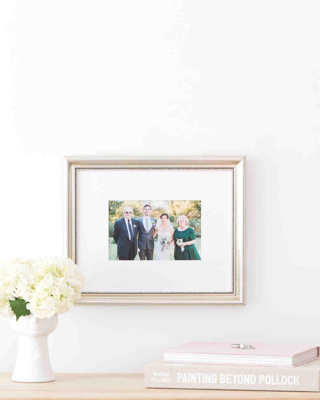 Framebridge Framed Wedding Photo