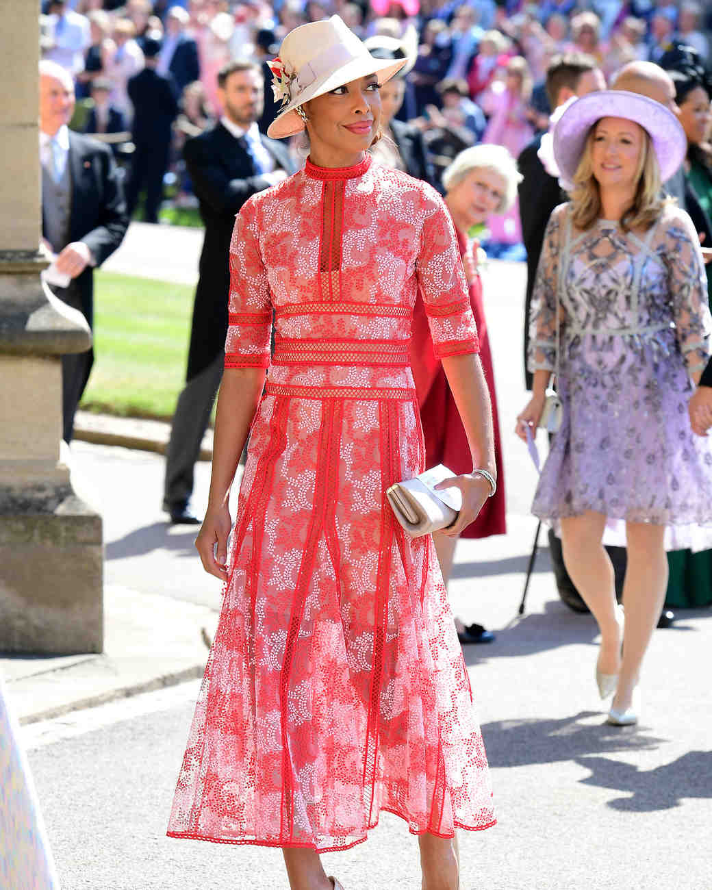 Gina Torres royal wedding 2018