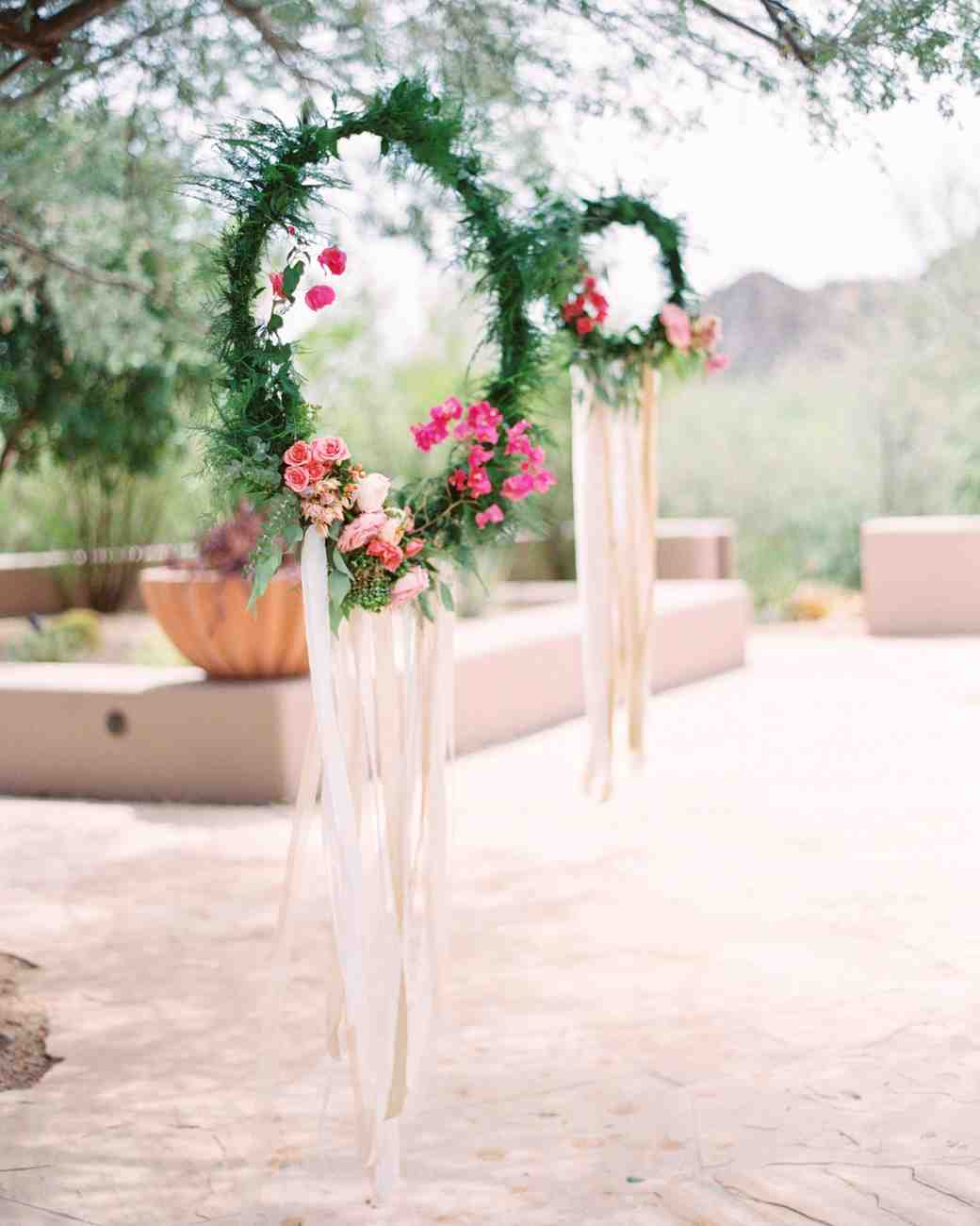hanging hoop decoration